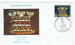 Lot   3 Enveloppes   Papeete  1979     Polynésie  Française - Marcofilie (Brieven)