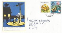Papua New Guinea 1989 Wewak Electricity Energy Postal Stationary Cover - Papoea-Nieuw-Guinea