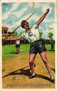 4 Trade Cards   1First Day Cover Javelin Thowing Hammer Throw Shot-Up Lancer Du Mart Lancer Du Poids 4 Match Box Labels - Athlétisme
