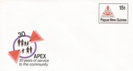 Papua New Guinea 1986 APEX Postal Stationary Cover - Papoea-Nieuw-Guinea