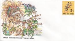 Papua New Guinea Coffee Fruit Postal Stationary Cover - Papoea-Nieuw-Guinea
