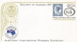 Papua New Guinea 1984 Postage Postal Stationary Cover - Papoea-Nieuw-Guinea