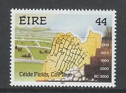 TIMBRE NEUF D´IRLANDE - SYSTEME DE CULTURE NEOLITHIQUE DU CEIDE, COMTE DE MAYO N° Y&T 836 - Agriculture