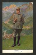 CARTOLINA MILITARE - Ritratto Del Generale Luigi CADORNA - Realizzato Dal Pittore A. Zoppi Nel 1915 - Personaggi
