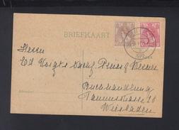 Briefkaart 1922 Bergen-op-Zoom - 1891-1948 (Wilhelmine)