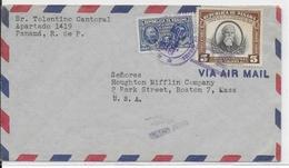 PANAMA - 1948 - ENVELOPPE AIRMAIL => USA - Panama