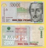 Colombia 2000 Pesos P-457i 2008 UNC - Colombie