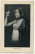 CARTOLINA BALLERINA ARABA ANNO 1940 LIBIA DONNA FEMME - Danza