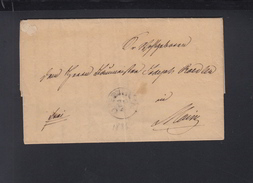 Faltbrief 1836 Oppenheim Nach Mainz - Preussen
