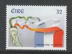 TIMBRE NEUF D´IRLANDE - L'IMAGINAIRE IRLANDAIS (EMISSION CONJOINTE AVEC LA FRANCE) N° Y&T 937 - Emissions Communes