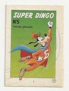 DISNEY - SUPER DINGO - N°5 - TERRAIN GLISSANT - PLANCHE À DECOUPER POUR METTRE EN LIVRET DE  16 PAGES - Books, Magazines, Comics