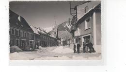 CORPS (Isère) - La Grande Rue Sous La Neige-(très Bon état) - Corps