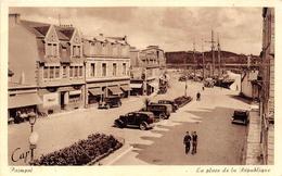 ¤¤  -  PAIMPOL   -  La Place De La République   -  ¤¤ - Paimpol