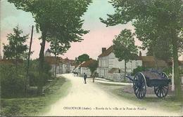 Chaource : Entrée De La Ville  Et Le Pont De Praslin - Chaource