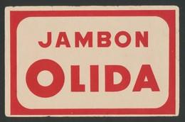 Buvard - JAMBON OLIDA - Buvards, Protège-cahiers Illustrés