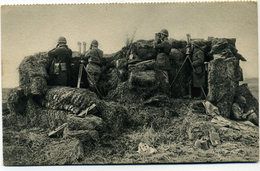 Editeur Georges Lang Aux Manoeuvres Poste D'observation D'Artillerie - Manoeuvres