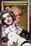 CPM LARDIE Jihel Tirage Signé Numéroté En 30 Exemplaires Cholet 1990 Pin Up Chat Cat Salon Pirate Nu Féminin - Bourses & Salons De Collections