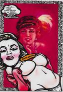 CPM LARDIE Jihel Tirage Signé Numéroté En 30 Exemplaires Sées 2006 Pin Up Salon Pirate Nu Féminin - Bourses & Salons De Collections