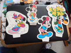 """Disney """"Minnie Et Mickey"""" - Plaques En Carton"""
