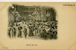 MONTE CARLO - Salle De Jeu - Dos Simple - Casino