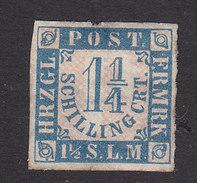 Schleswig-Holstein, Scott #18, Mint No Gum, Number, Issued 1864 - Schleswig-Holstein