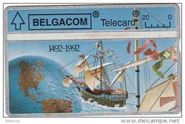 BELGIUM - 500 Years America 1492-1992, Christophe Columbus, CN : 267B, Used - Belgium