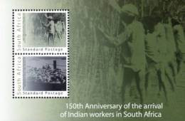 South Africa - 2011 Indian Indentured Labour MS #2 (**) - Sud Africa (1961-...)