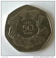 Monnaie - Grande-Bretagne - 50 Pence 1973 - - 1971-… : Monnaies Décimales