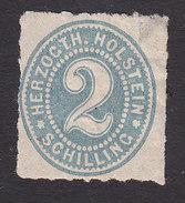 Schleswig-Holstein, Scott #21, Mint Hinged, Number, Issued 1865 - Schleswig-Holstein