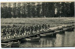 Editeur Georges Lang Pont De Bâteaux - Manoeuvres
