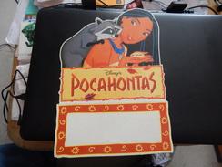 """Disney """"Pocahontas"""" - Plaques En Carton"""