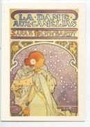 Alphonse Mucha - La Dame Aux Camélias Sarah Bernardt (éd A. M. Vierge) Spectacle - Publicité
