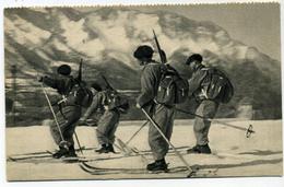 Editeur Georges Lang Eclaireurs - Skieurs - Manoeuvres