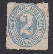 Schleswig-Holstein, Scott #24, Mint Hinged, Number, Issued 1865 - Schleswig-Holstein