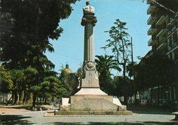 AVERSA - Villa Comunale, Monumento Iommelli - Aversa