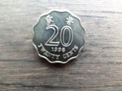 Hong-kong  20  Cents  1998  Km 67 - Hong Kong