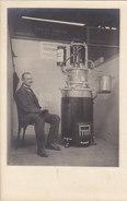 Patentbrenner Von Ernst Obrist, Kupferschmied, Baden - Präs.an Der MUBA - Seltene Fotokarte    (P33-40120) - AG Argovie