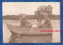 CPA Photo - WITTDUN - Portrait De Famille Sur Une Barque - 1912 - Homme Femme Enfant - Other