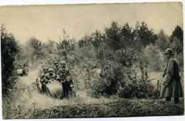 Editeur Georges Lang Groupe De Combat Motorise - Manoeuvres