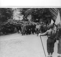 Chateauroux Photo Presse Originale Marechal Petain Sortant Du Centre Des Oeuvres Sociales 28 Mai 1942 - Chateauroux
