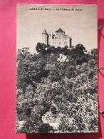 30 - Lasalle - Le Château Du Solier - Scans Recto-verso - France