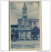 SVLLTPA1890CPA-LFTD12959TBES.Tarjeta Postal DE SEVILLA.ARTE.Escultura,monumento A La VIRGEN  DEL VALLE,patrona De ECIJA - Esculturas