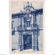 SVLLTPA2017CPA-LFTD9290TBES.Tarjeta Postal DE SEVILLA.ARTE.Edificios,escultura Y PALACIO DE BENAMEJI EN ECIJA - Esculturas