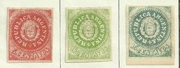 Argentinien,  Nr. 4-6 II, Falsch ! Ungebraucht - 1858-1861 Eidgenossenschaft
