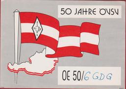 QSL Card Amateur Radio Station Oostenrijk Austria Österreich Autriche Vienne  Vienna OVSV 1979 - Radio Amatoriale