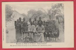 Congo Français - Missions Des Pères Du St-Esprit - Dgr Derouet évêque De Loango Et Son Catéchisme En 1907 ( Voir Verso ) - Congo Français - Autres