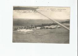 ETAMPES 593 AERODROME FARMAN VUE PRISE EN AEROPLANE 1916 - Etampes
