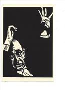 16394 -  Igor Stravinsky Russian Composer And Musician Par Linoleum Cut By Rachael Romero - Musique Et Musiciens