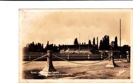 FUMEL Le Parc Des Sports Stade De Rugby Belle Cpsm Signée NARBO Circulée En 1948 Bon état Voir Scans - Fumel