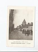 HANGEST EN SANTERRE (SOMME ) LA PLACE (FACTEUR ET PETITE ANIMATION) 1916 GUERRE 1914 15 - France